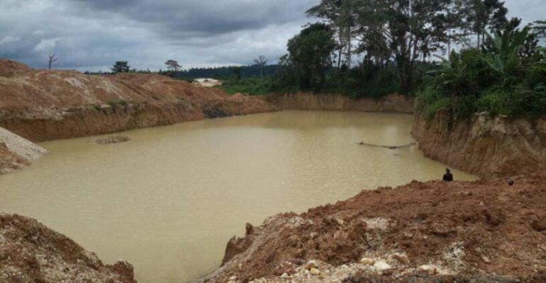 Kyebi water treatment plant shut down over galamsey