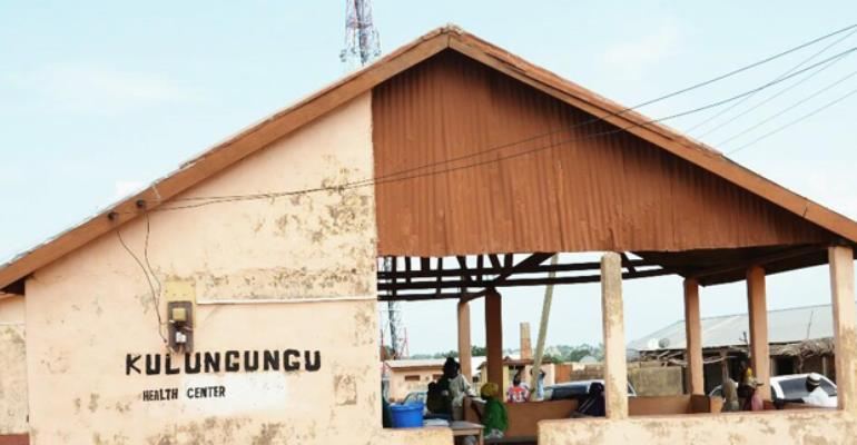 Side view of the Kulungungu Health Centre