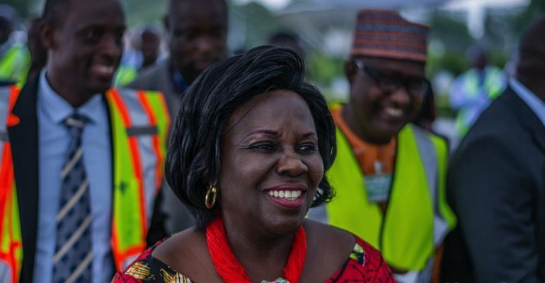 Why Nana Addo Reshuffled Cecilia Dapaah To The Sanitation Ministry - NPP Man Reveals