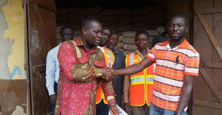 Amenfi Central; DCE Donates To Flood Victims