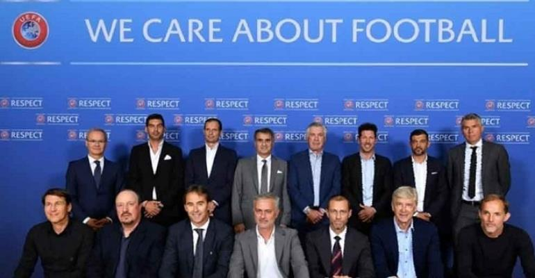 Europe's top coaches want away-goal rule scrapped