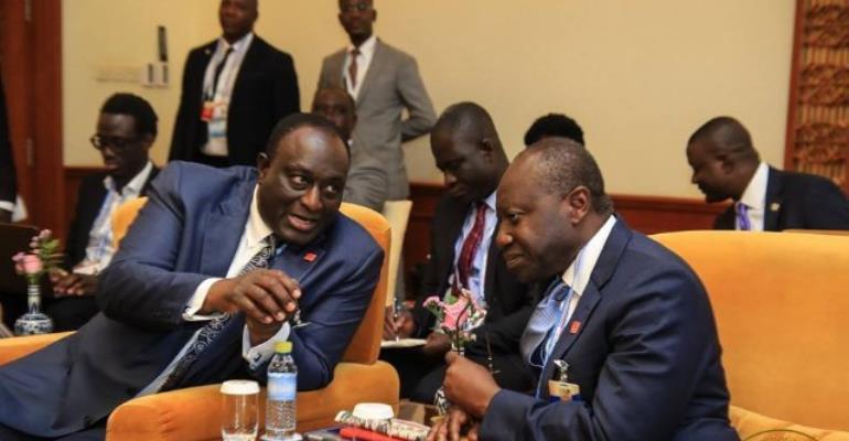 Finance Minister Finally Wears Suit