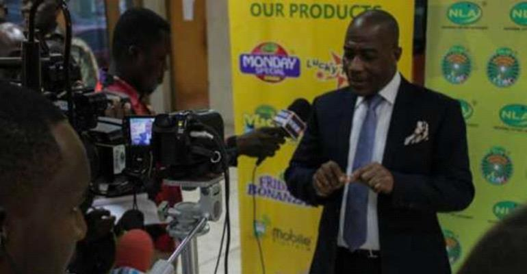 Kofi Osei Ameyaw addressing the media on the sidelines of one of the engagement series with the stakeholders