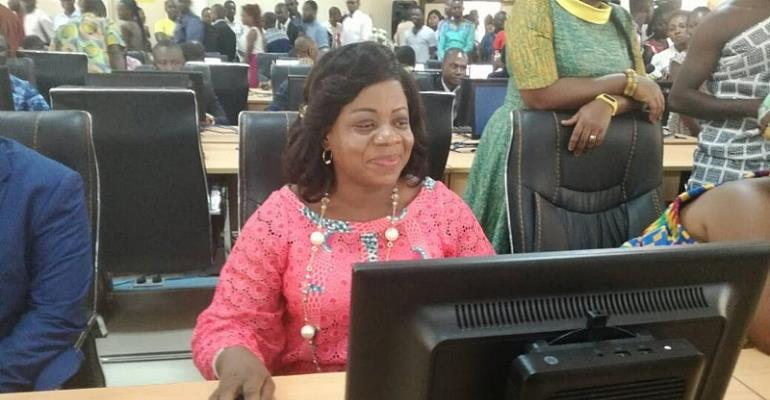 MTN Commissions 90 Seater E-Library For The Koforidua Technical University