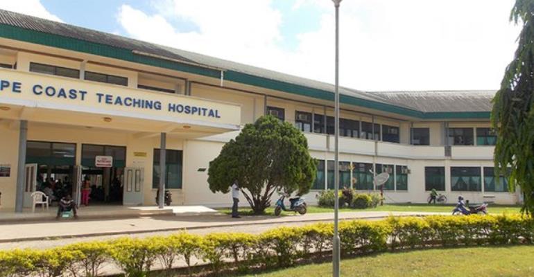 Kwame Sefa Kayi gives Cape Coast Teaching Hospital incubator