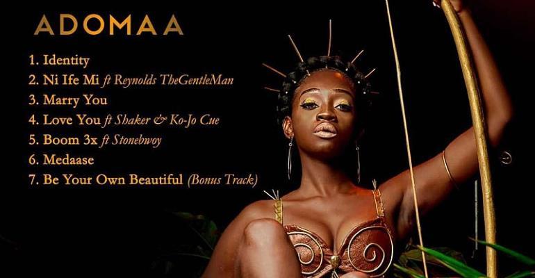 Singer Adomaa Releases First EP Of 'Adomaa Vs Adomaa'