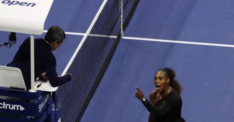 Serena Williams Accuses 'Thief' And 'Liar' US Open Umpire Of Sexism In Court Outburst