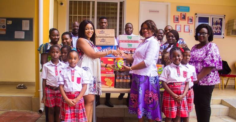 North Hills International School Donates to Public Schools Within the La Nkwantanang – Madina Municipal Assembly