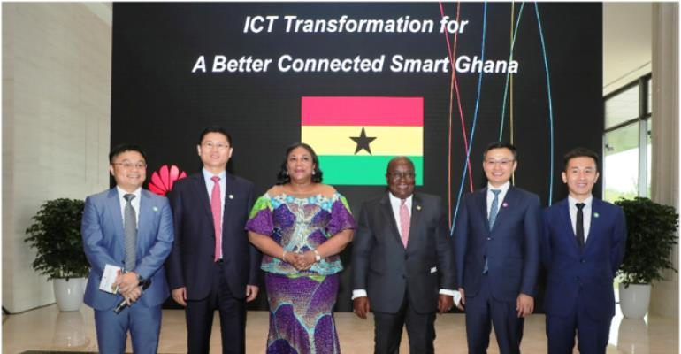 Akufo-Addo Challenges Huawei To Lead ICT Evolution