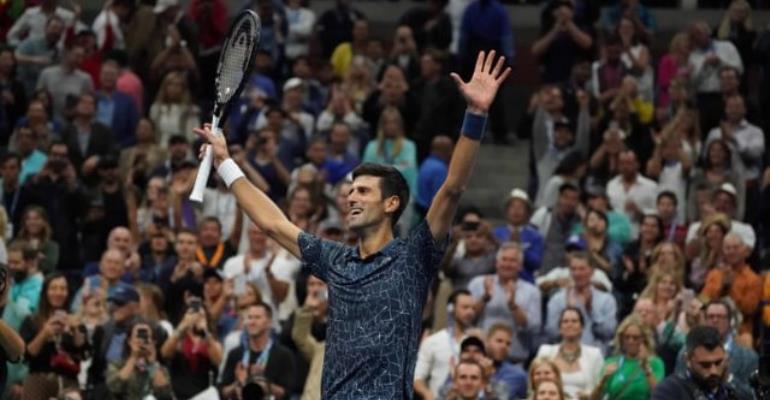 Djokovic Beats Del Potro To Win US Open