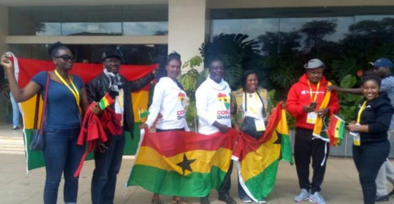 How African Fans' Group Spiced Up Kenya Vs Ghana Match