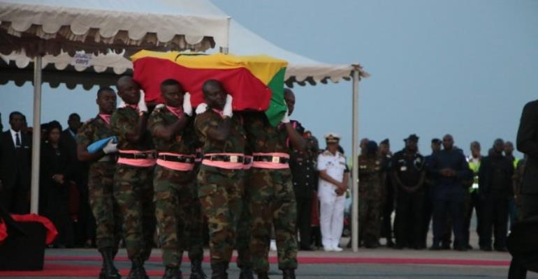 Ghana Begins 3-day Mourning Of The Late Kofi Annan