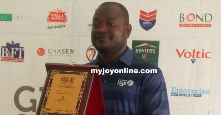 Kwadwo  Poku Wins GEC Invitational Open Golf Tourney