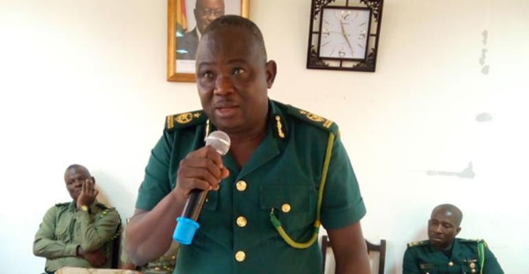 Deputy Commissioner of Immigration (DCI), Peter Claver Nantuo