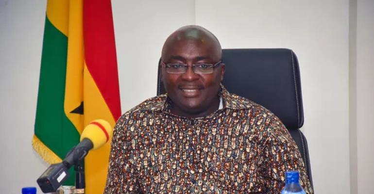 Vice-President Dr Mahamudu Bawumia