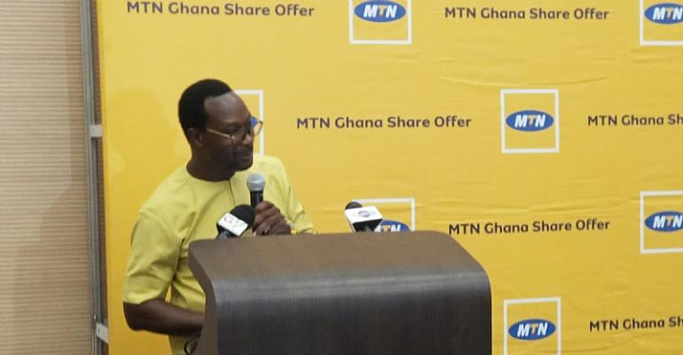 MTN Ghana Records Gh₵1.1 Billion From Its IPO