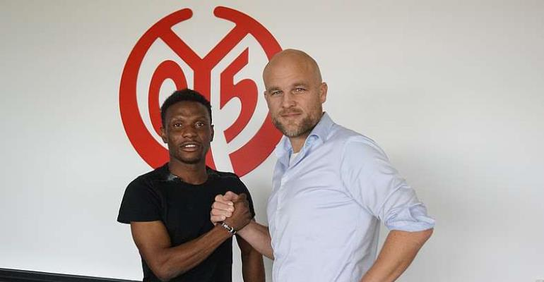 Issah Abass Hoping To Make Impact In Bundesliga For FSV Mainz 05