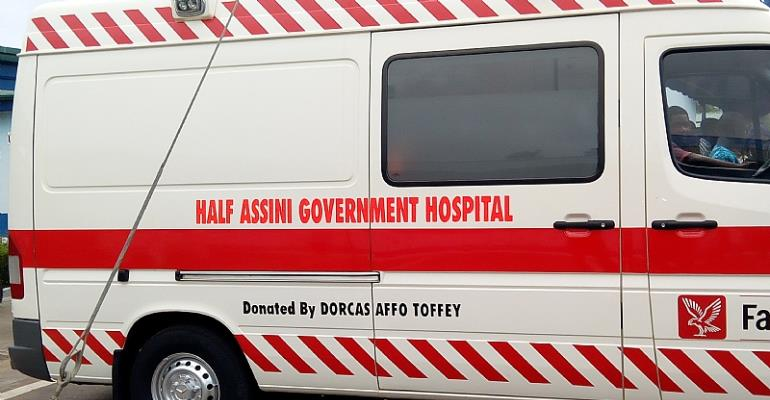 This is the ambulance