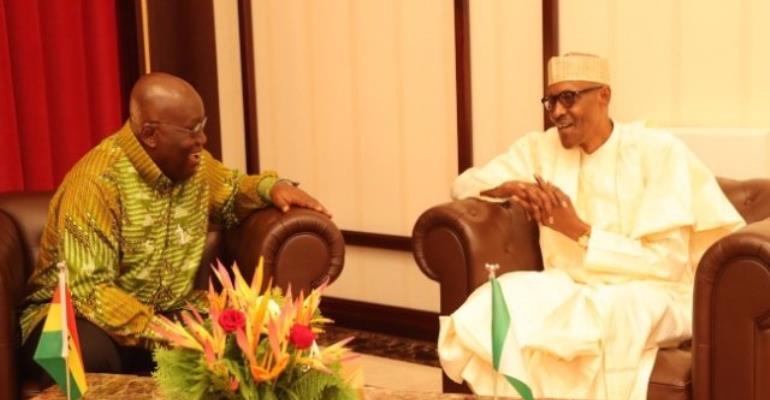 Akufo-Addo visits Buhari to check health status