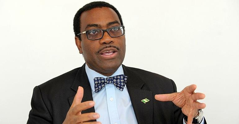 Akinwumi Adesina chairs The General Meeting of the Shareholders of Africa50 in Dakar