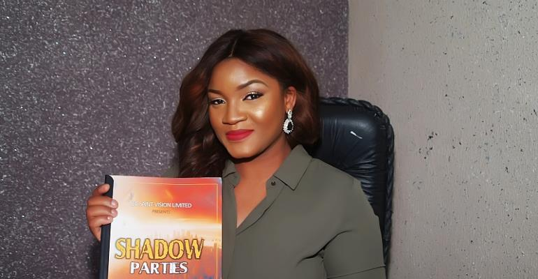 Omotola Jalade Embarks On a New Movie Project Titled 'Shadow Parties'