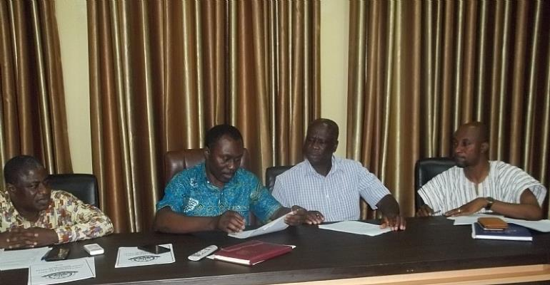Sunyani Technical University Signs Performance Management Contract with HODs, Deans, other