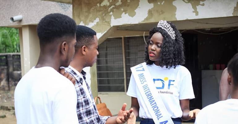 Akorfa Daniella Foundation Donates To Rhemar Ghana Orphanage