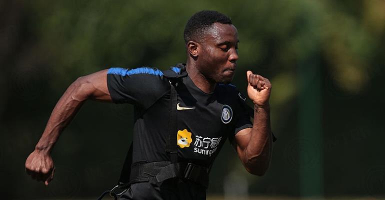 Kwadwo Asamoah Back In Training With Inter Milan