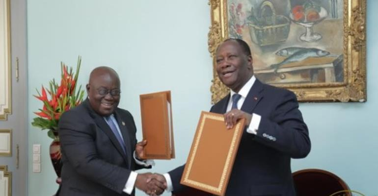 Ghana, Cote d'Ivoire Cement Cooperation Agreement On Cocoa