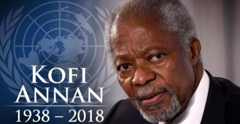 Kofi Atta Annan:A Citizen of the World