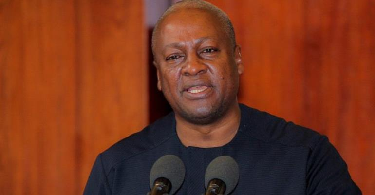 Mahama Slams Akufo-Addo's Over 'Nepotism, Bloated Government'