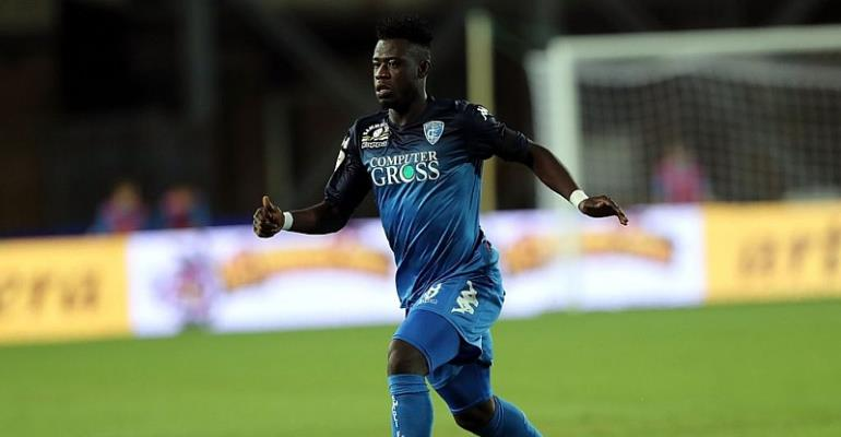 Empoli Considering Improved Offer For On-Loan Afriyie Acquah To Stay
