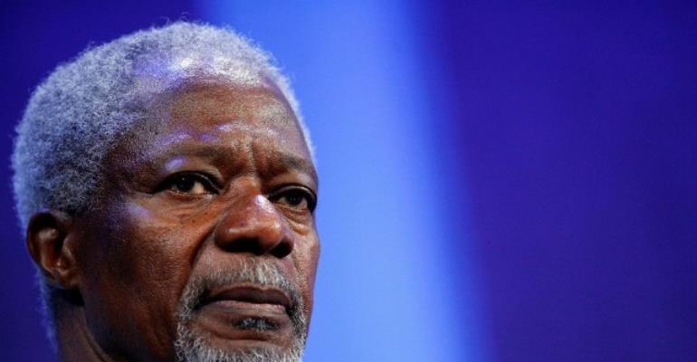 Exclusive: Timothy Odoom's Must-Hear Tribute To Kofi Annan