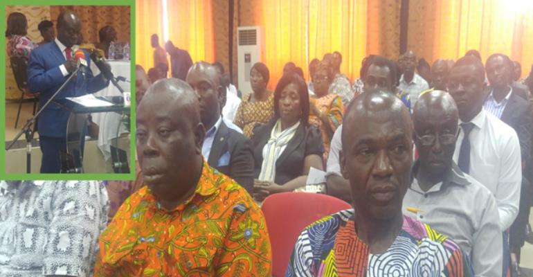Prof Gyan-Baffour and a section of the participants