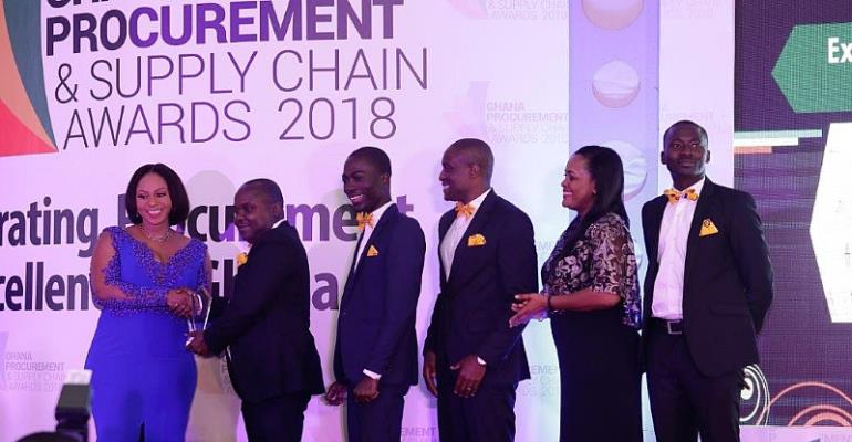 MTN Grabs 4 Awards At Ghana Procurement & Supply Chain Awards