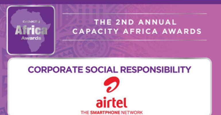 Airtel Ghana Wins Capacity Africa Awards For Best CSR