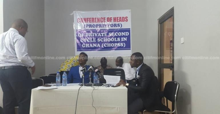Free SHS Is  A Threat To Our Investments, Jobs – Private School Heads