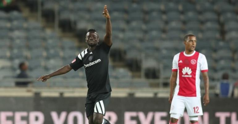 Bernard Morrison Revels In Debut Orlando Pirates Goal