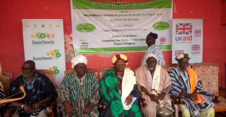 Mental Health Durbar Held In Yendi To Promote Rights Of Mentally Ill People