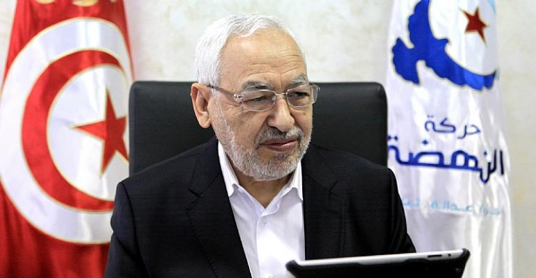Rached Ghannouchi, the co-founder and president of Ennahdha, the Tunisian moderate Islamist party.