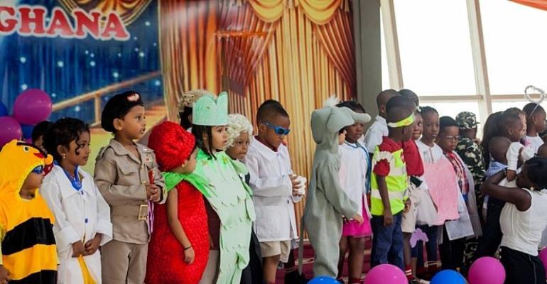 Tema DPSI School Celebrates Fancy Dress Day