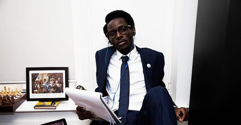 The Axis of the Youth & The Startup Republic - V. L. K. Djokoto