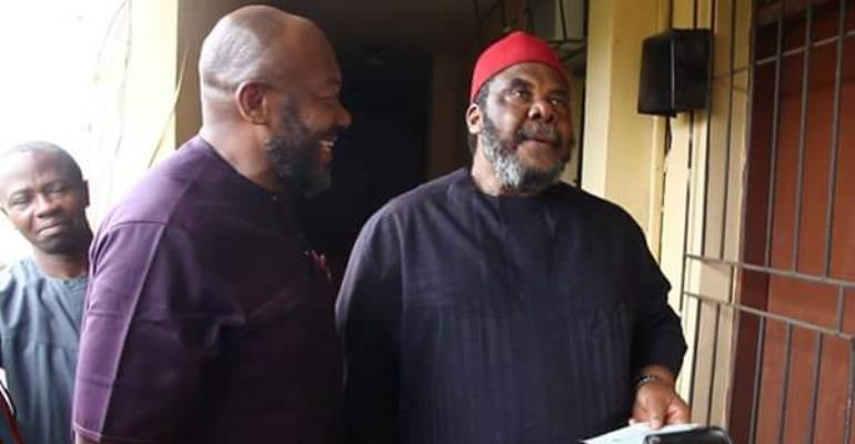 After 19years of Service, Actor, Pete Edochie gets his Gratuity Anambra State Govt.