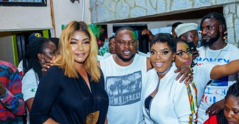 Nollywood Diva, Tonto Dikeh Others Set For Abuja All White Pool Party