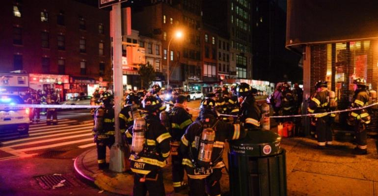 At Least 29 Wounded In New York City Explosion