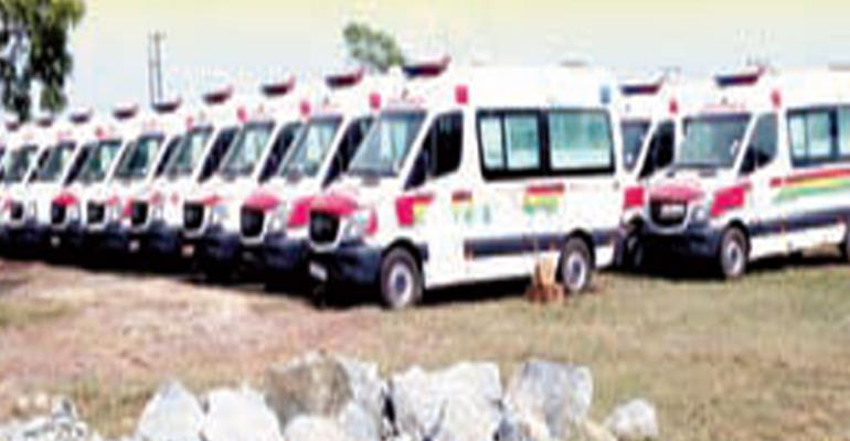 The rejected ambulances