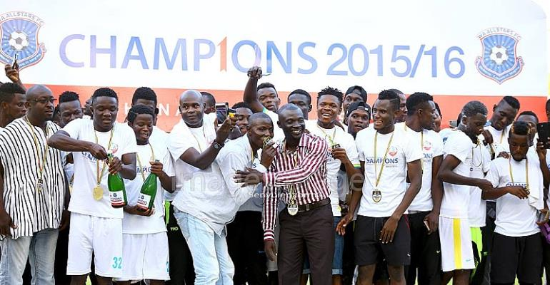 PHOTOS: Wa All Stars crowned Ghana Premier League champions