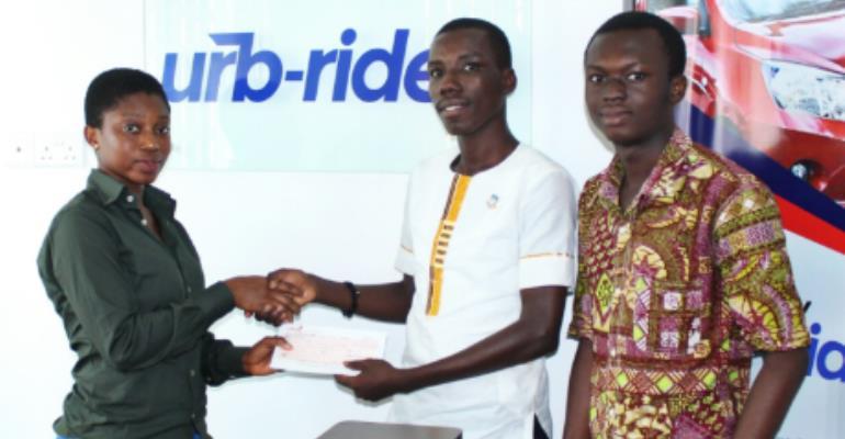 Urb-Ride Sponsors GIJ-SRC Akwaaba Week Celebration