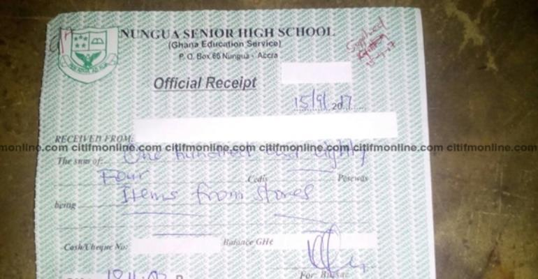 FREE SHS: Nungua SHS Charging Over GHC170 For Uniforms