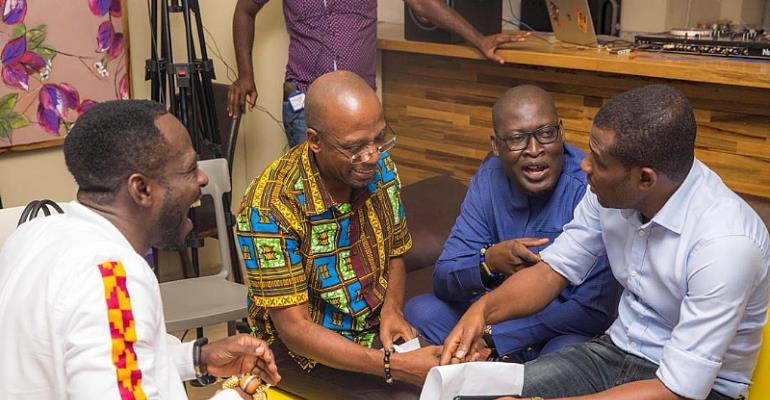 Okyeame Kwame Holds Listening Session For 'Made In Ghana' album